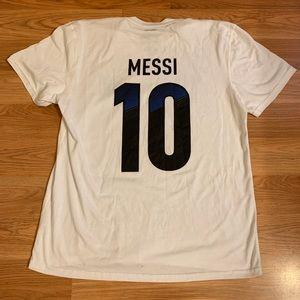 Messi Argentina Soccer T shirt